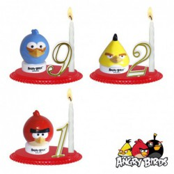Bougeoirs Angry Birds