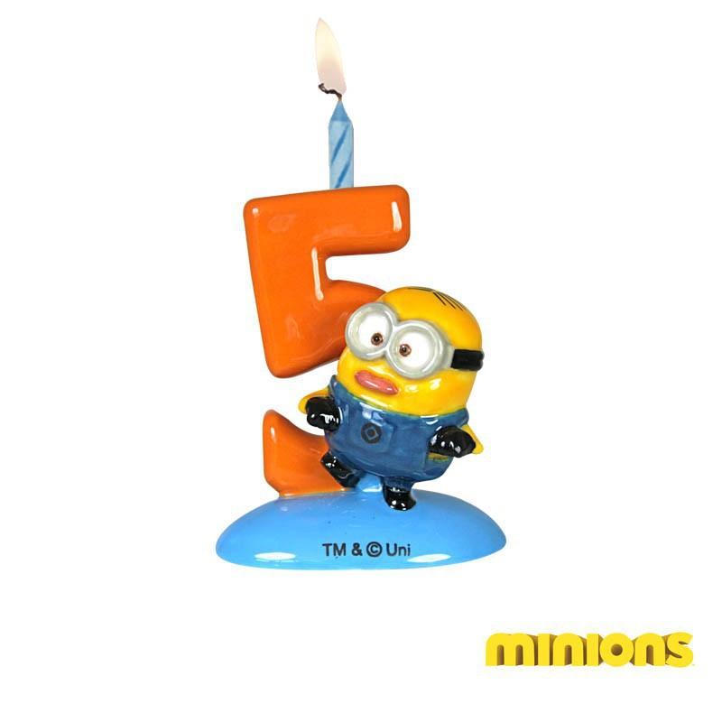 Porte-bougies Minions N°5