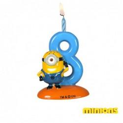 Porte-bougies Minions N°8