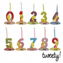 Porte-bougies Tweety N°1