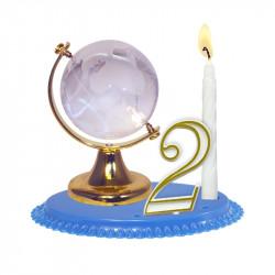 "Porte-bougies ""Adultes"" : Globe"