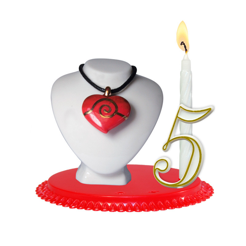 """Porte-bougies """"Adultes"""" : Cœur à Offrir"""