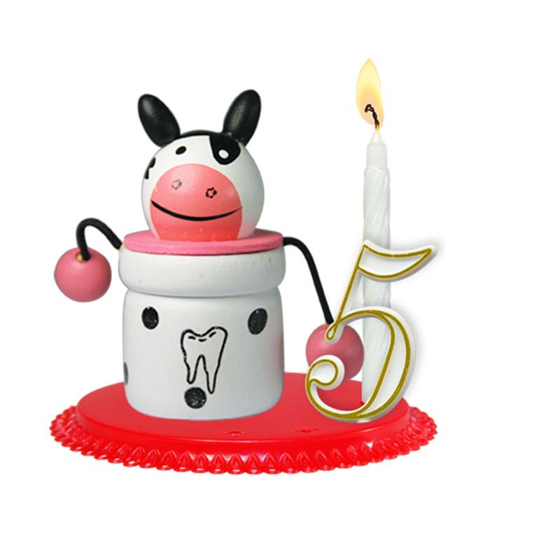"""Porte-bougies """"ENFANTS"""" : Boîte à dents"""