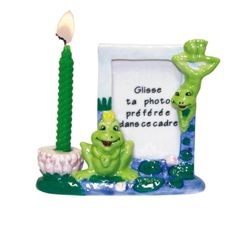 "Porte-bougies ""Miniature cadre photo"""