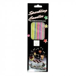 """Blister de 20 bougies étincelles """"fines"""""""