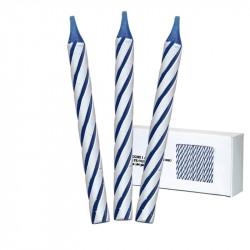 Bougies Classiques Bleues