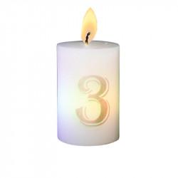 Bougie luminescente N°3