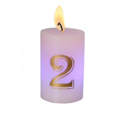 Bougie luminescente N°2