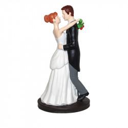 """Porte-bougies """"Mariage"""" : Mariés dansant"""