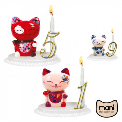 Bougeoir Mani Lucky Cat