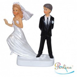 """Porte-bougies """"Mariage"""" : Mariés Ne t'échappes pas"""