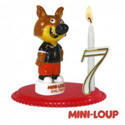 Bougeoirs Mini-loup