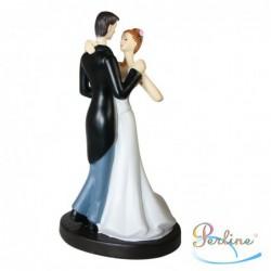 """Porte-bougies """"Mariage"""" : Mariés valsant"""