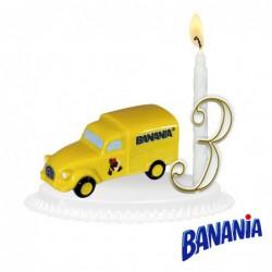 Bougeoirs Véhicule Banania