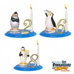 Bougeoirs Les Pingouins de Madagascar
