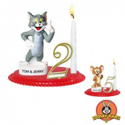 Bougeoirs Tom & Jerry